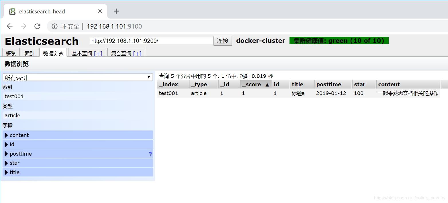 docker 安装ElasticSearch(6 x版本) - yimingkeji的个人空间- OSCHINA