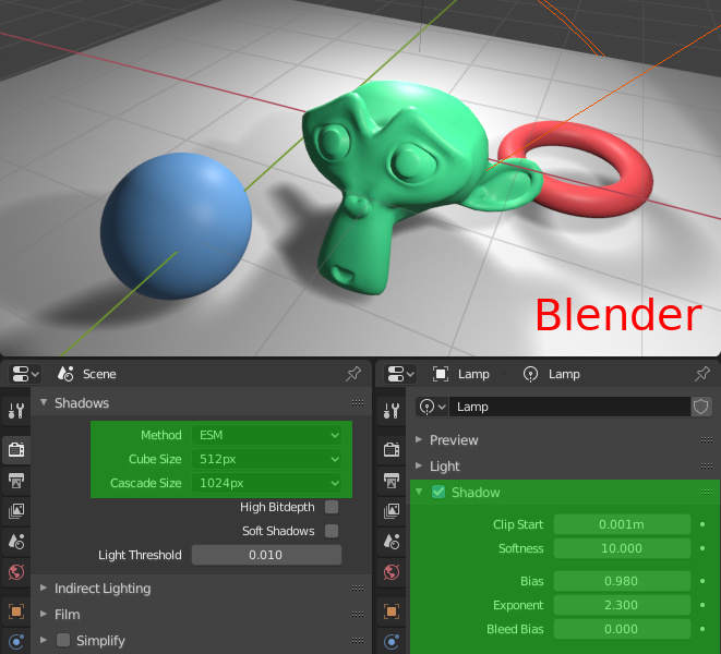 Verge3D 2.13 for Blender 发布,新的阴影