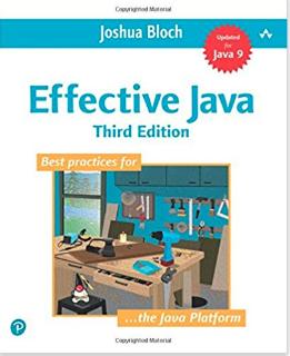 Effective Java, Third Edition