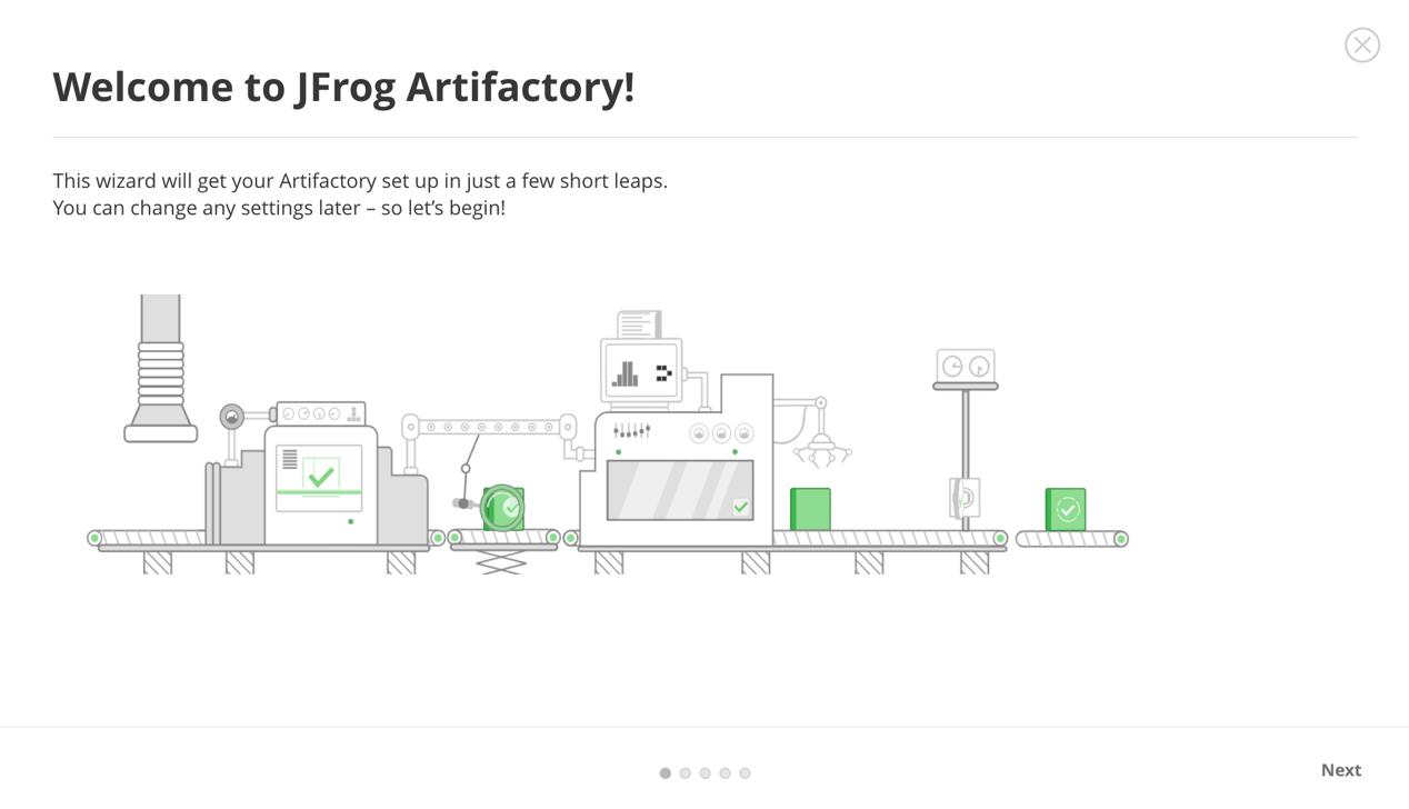 在Kubernetes集群上部署和管理JFrog Artifactory