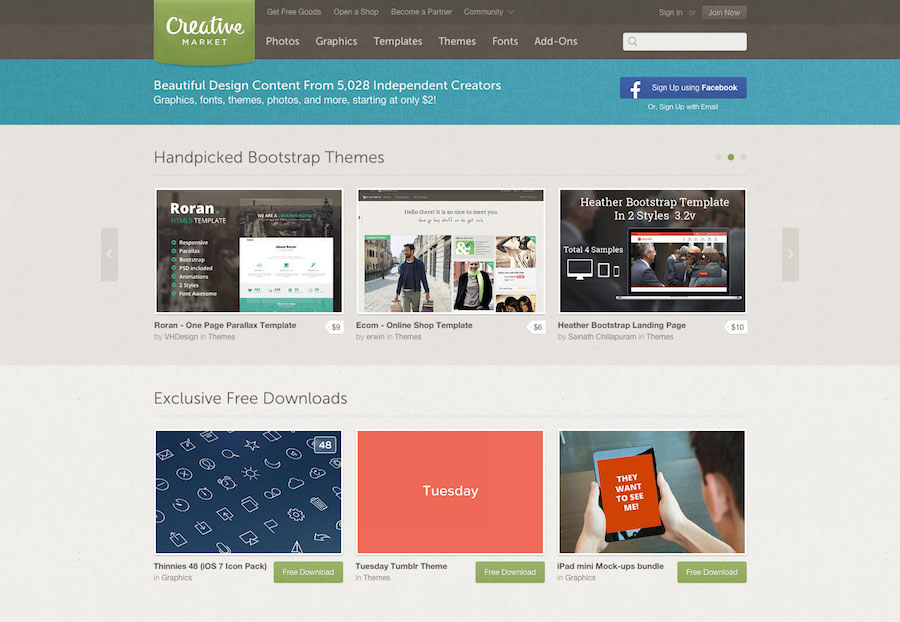 Creativemarket网站界面.jpg