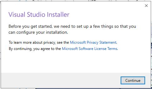 Visual Studio 2019 RC入门图3  - 第1部分