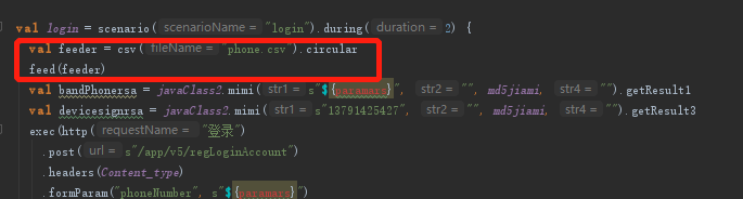 gatling为什么无法引用csv中的文件,feed已定义- OSCHINA