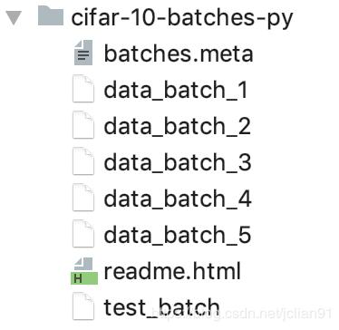 CIFAR-10数据集Python版本