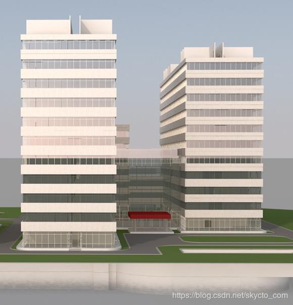 智能楼宇3D可视-书写人生