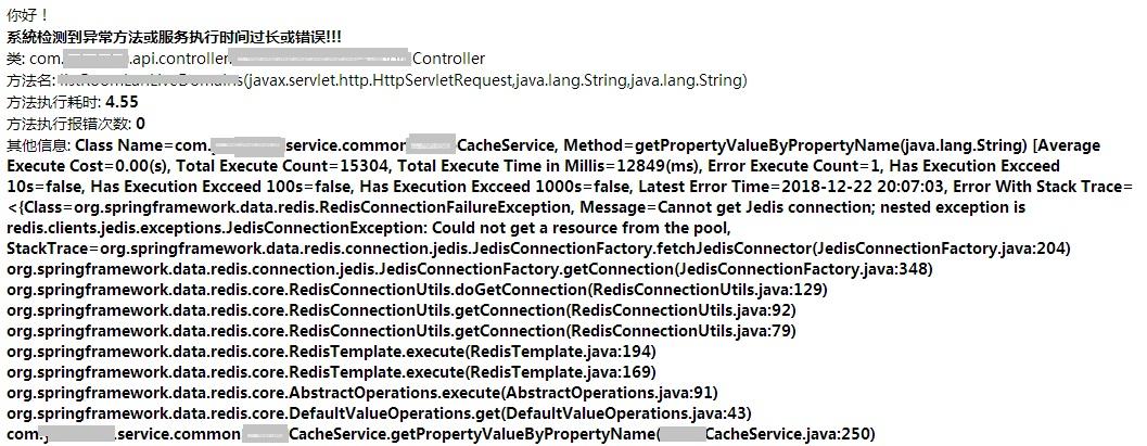 Method Notification Content Screenshot