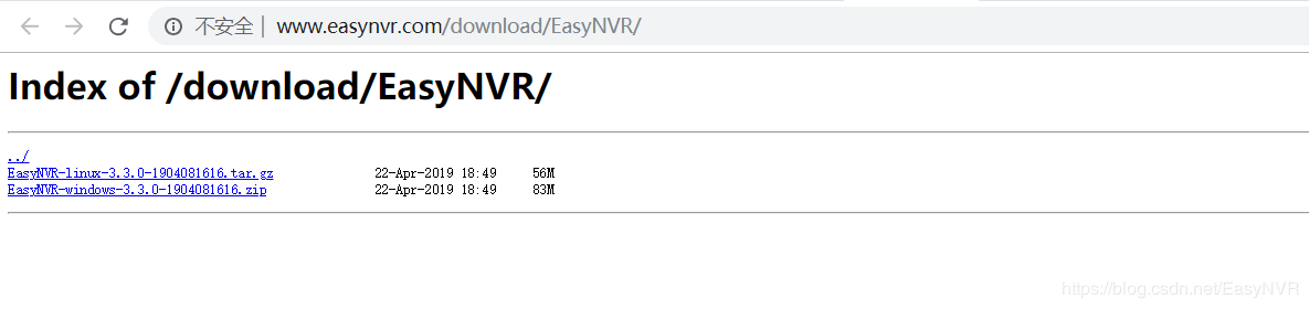 下载EasyNVR