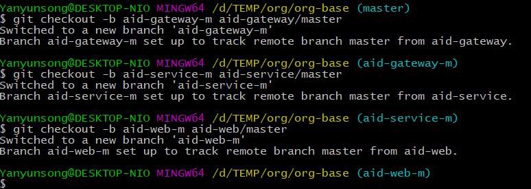 add branch