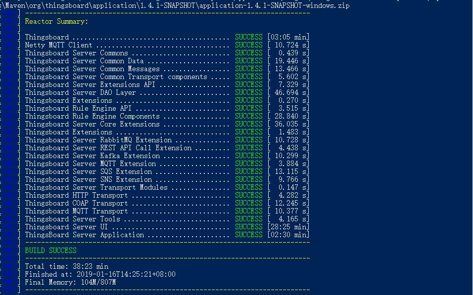 开源的物联网技术平台thingsboard安装测试及使用步骤- SummerGao - OSCHINA