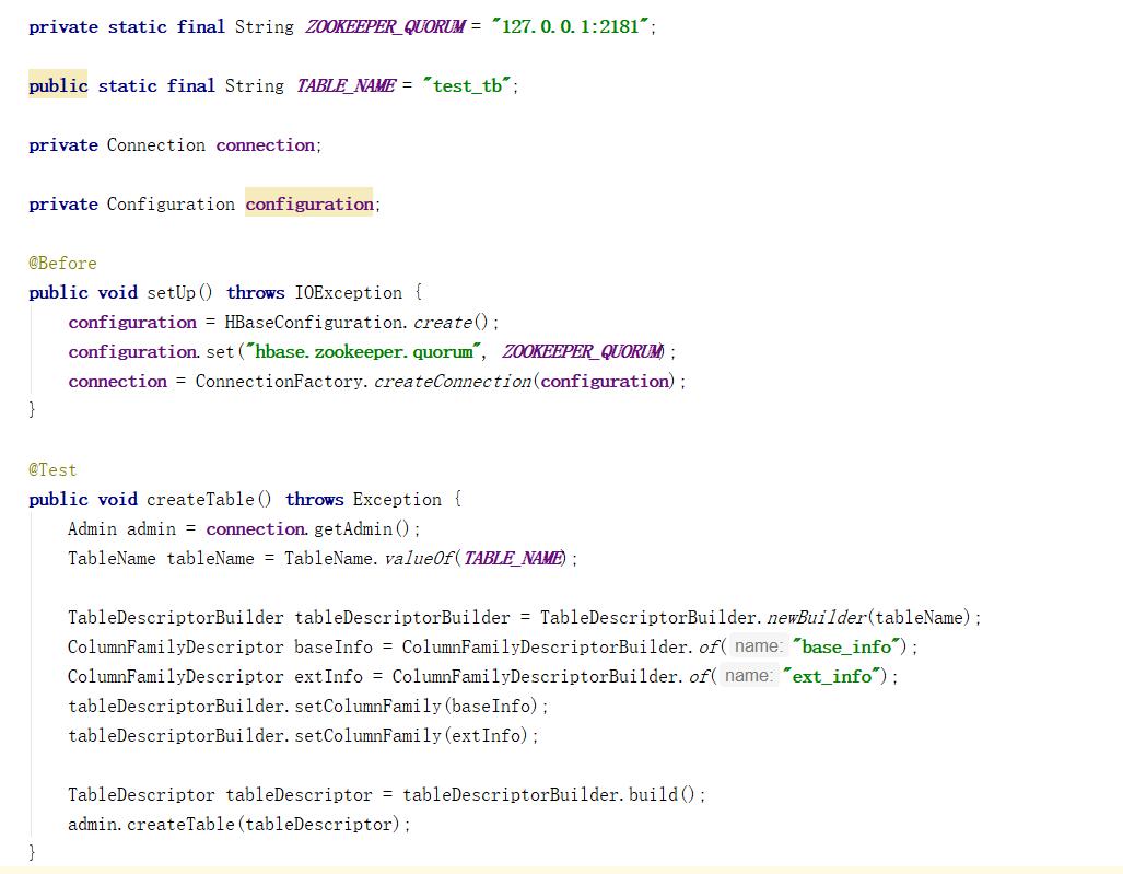 HBase基本命令与新版本Java API - trayvon的个人空间- OSCHINA