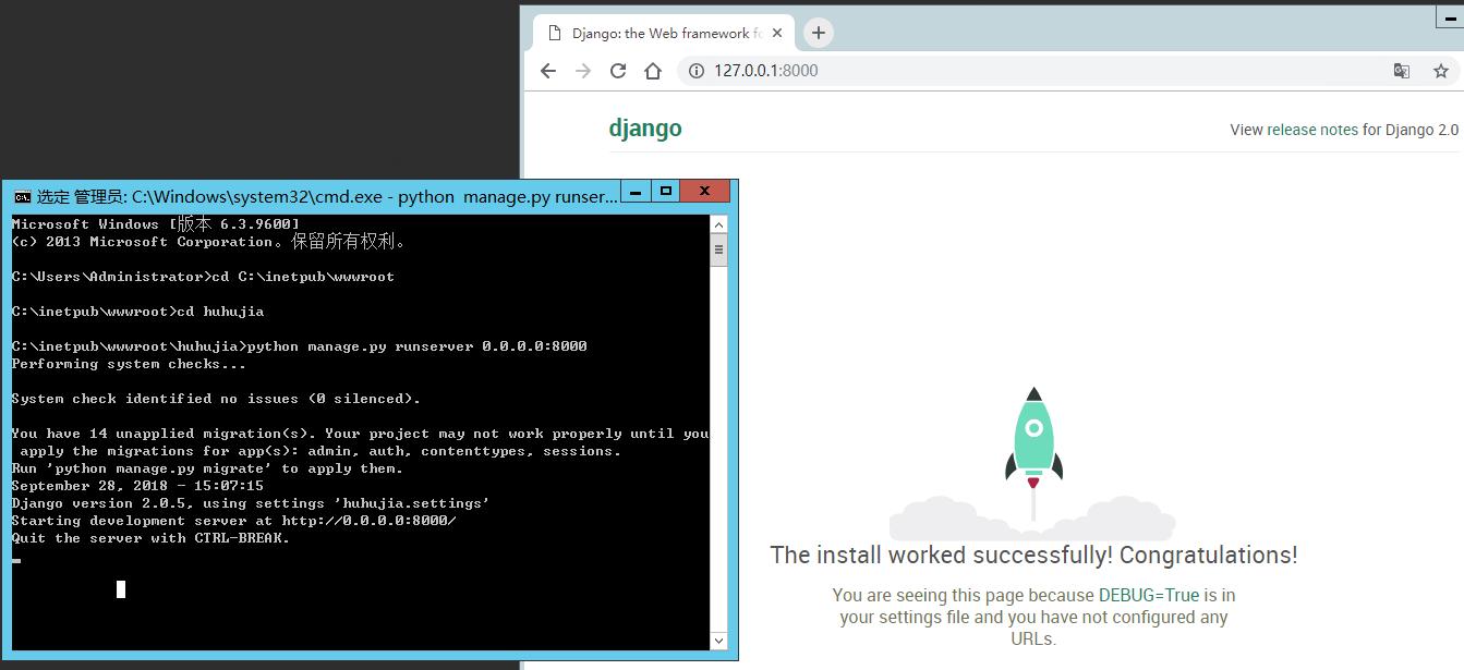 Windows Server R2上用IIS8部署Django2 0 5一直失败- OSCHINA