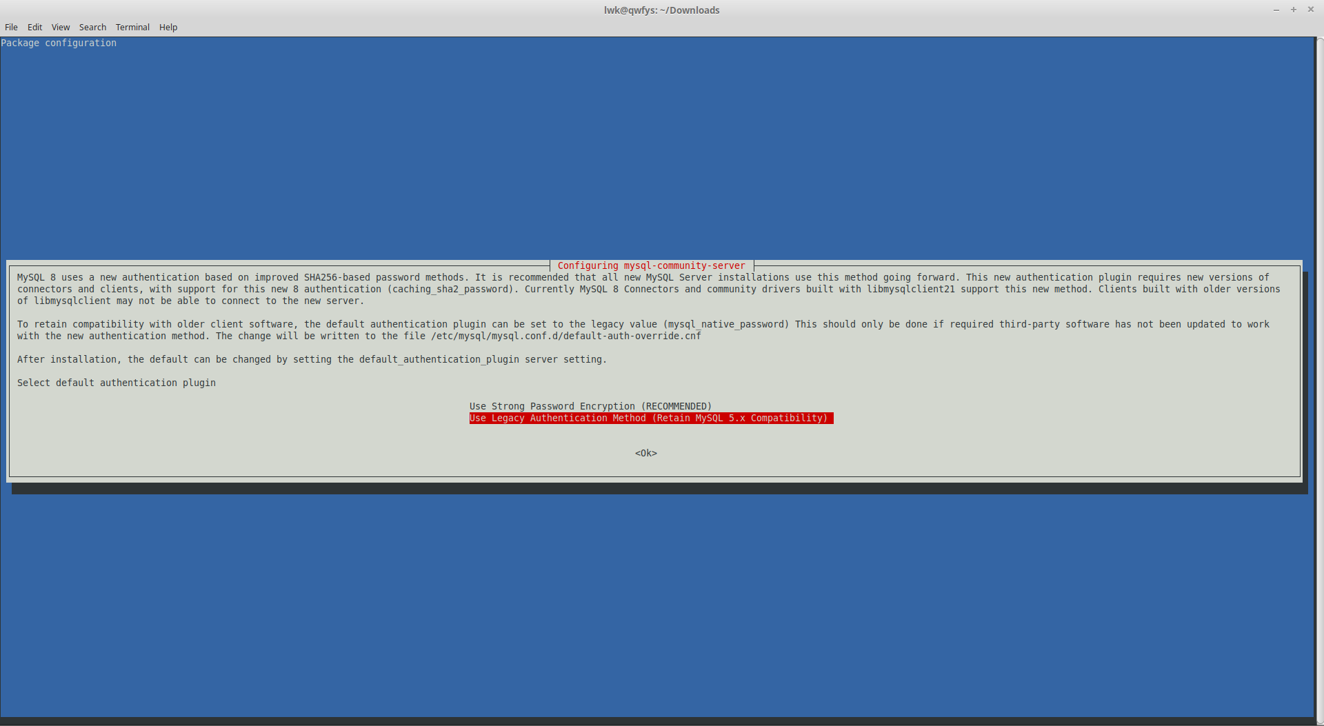 install mysql 8 0 to Linux mint 19 0 - 在路上 - OSCHINA