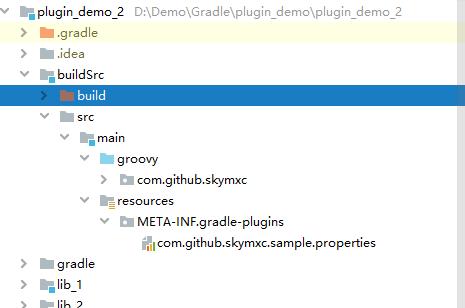 buildSrc 目录结构