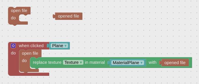 这两个简单的拼图允许将用户的图像应用于模型