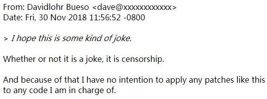"Linux 社區也要""淨網行動""?有人提議用""擁抱""替換 fxxk"