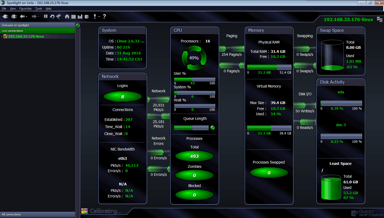 该服务器的 Spotlight 监控界面.png
