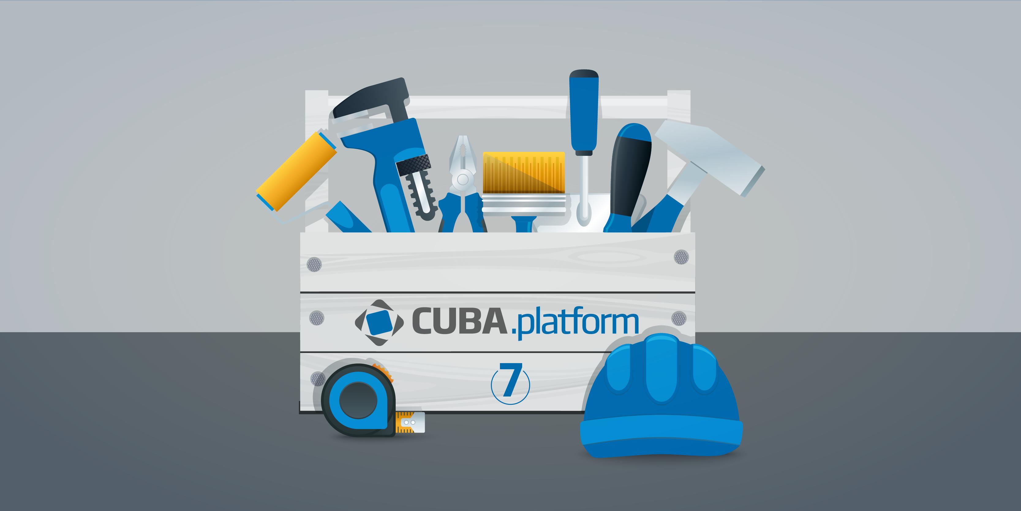 CUBA Platform 7.0.10 发布,企业级应用开发平台