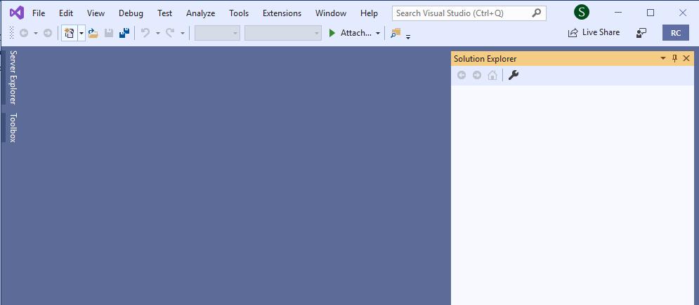 图14用于Visual Studio 2019 RC入门 - 第1部分