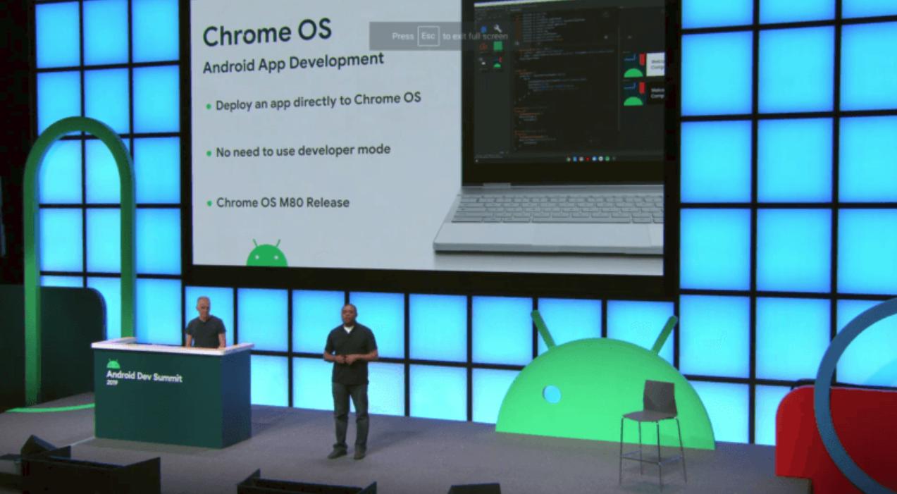 Chrome OS 80 将能够立即构建 Android 运用