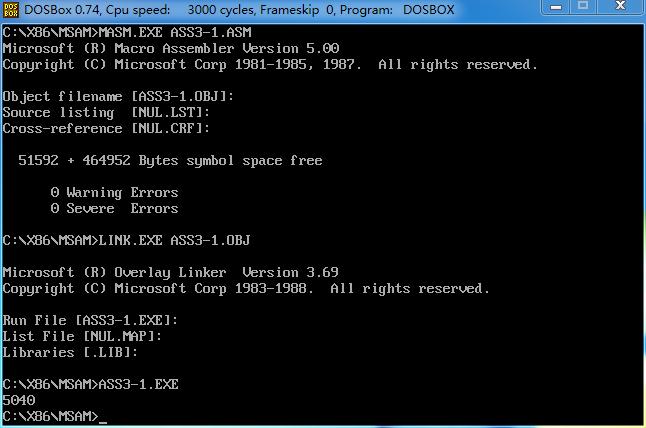 x86汇编语言实践(3)