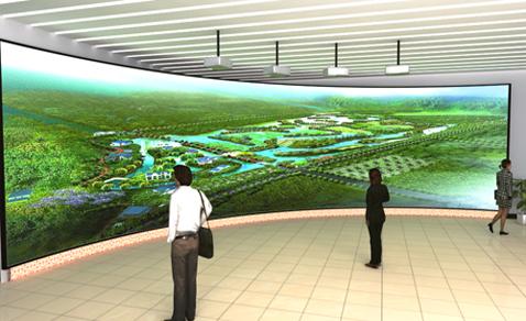 结合数字展厅,360度零死角为客户展示企业文化