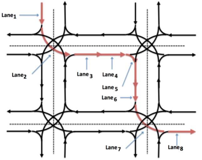 无人车路由寻径模块的高精地图道路级别路由寻径