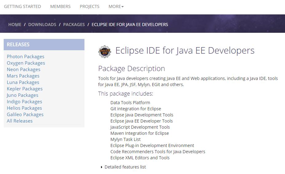 Eclipse Java Ee Developer Tools Neon | Lipstutorial org