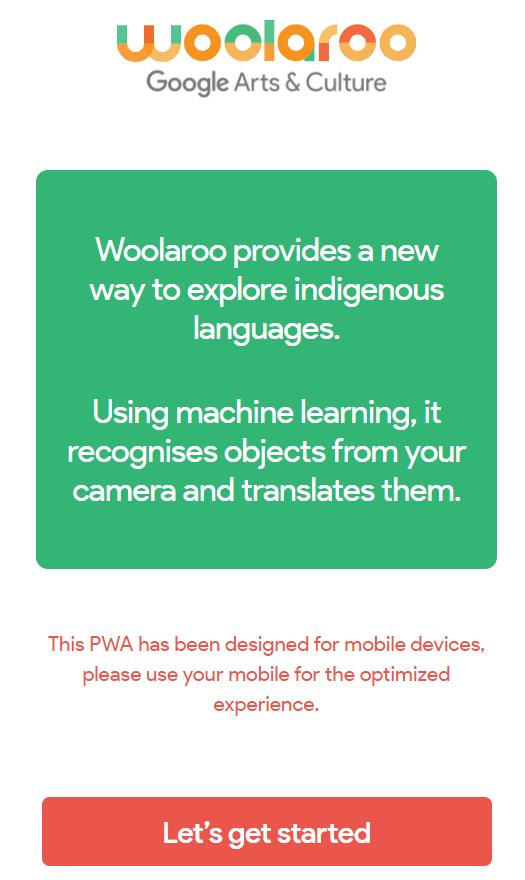 Google Arts & Culture 开源 Woolaroo,使用 AI 保护濒危语言