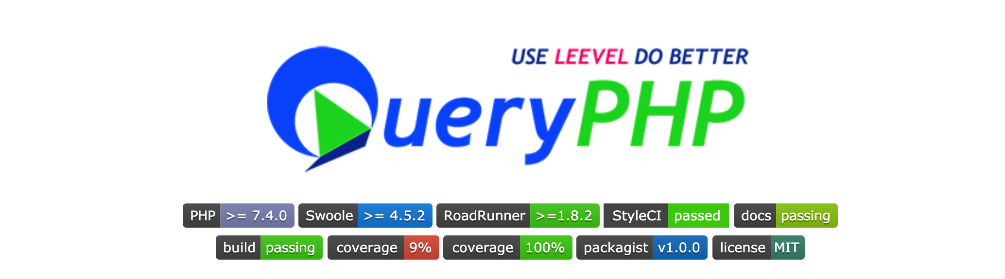 PHP 框架 QueryPHP 1.0 正式版,四年打磨生产可用!