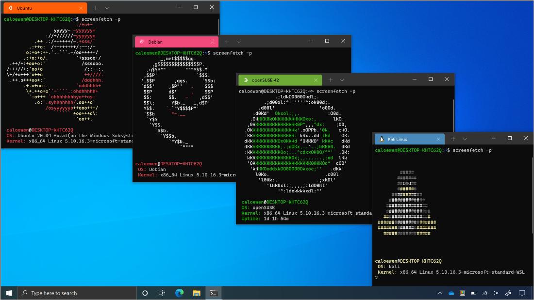 WSL 支持运行 AI 训练任务以及 Linux GUI 应用