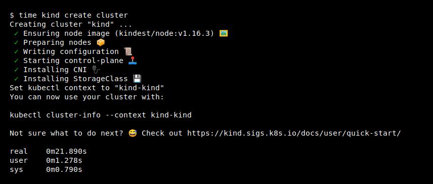 运行本地 Kubernetes 集群的工具 KinD