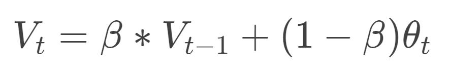 EWMA公式