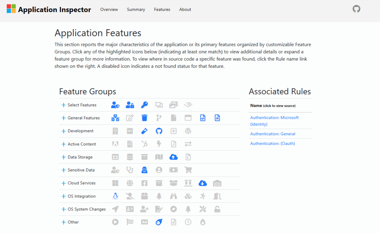 Application Inspector:微软开源软件特征源码分析工具