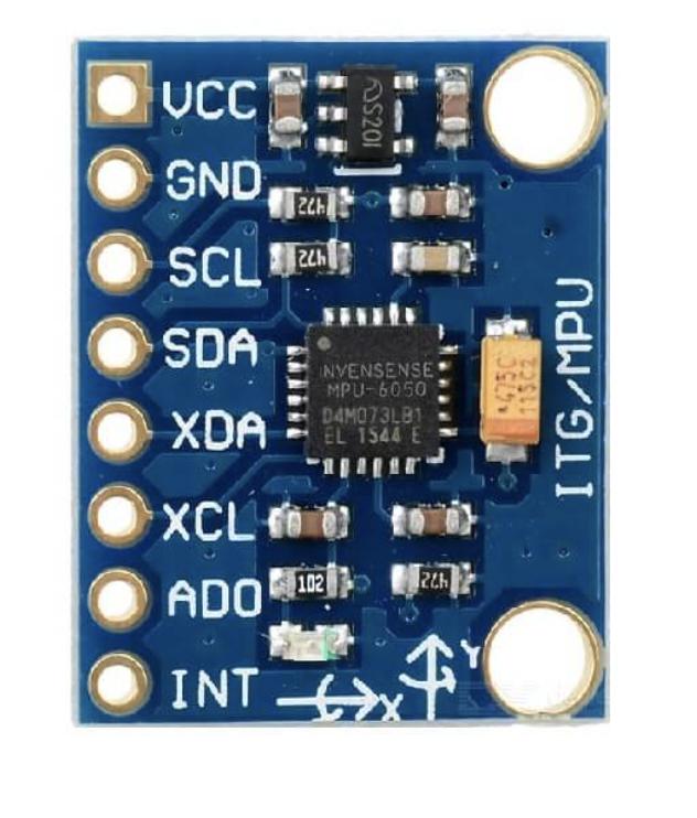 一起玩转树莓派(18)——MPU6050陀螺仪加速度传感器模块应用