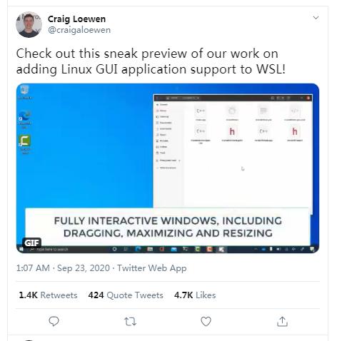 微软不会将 Windows 迁移到 Linux