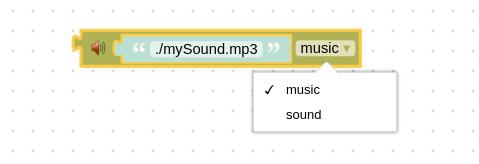 声音与音乐节点