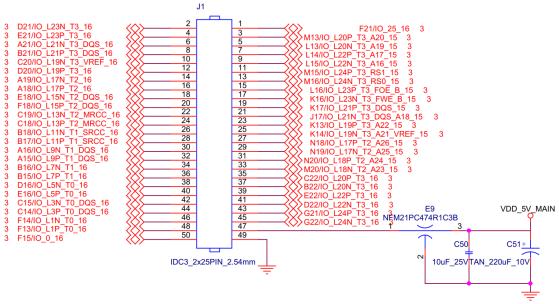 创龙XilinxArtix-7系列FPGA开发板的拨码开关、拓展IO