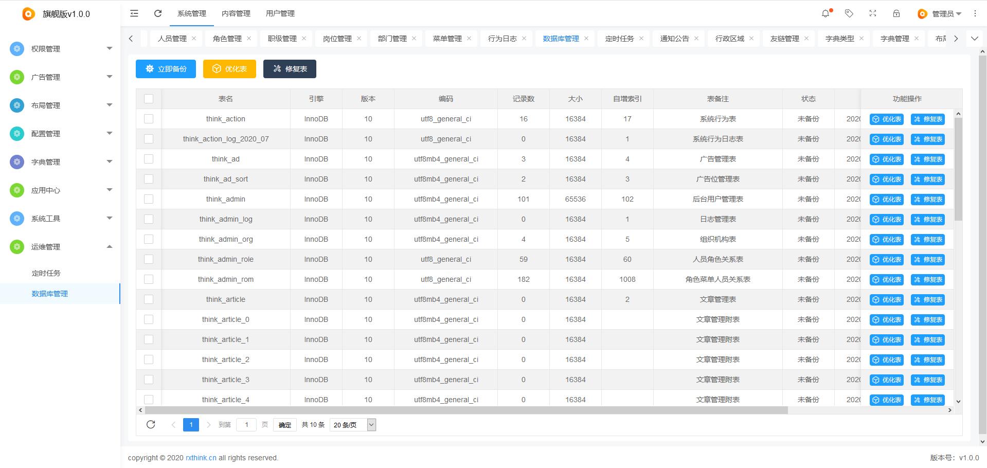 RXThinkCMF_TP6 v2.2.0 旗舰版发布,优化富文本编辑器上传本地图片的功能