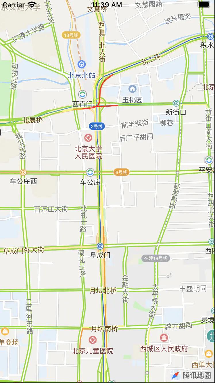 腾讯位置服务地图SDK自定义地图和路况