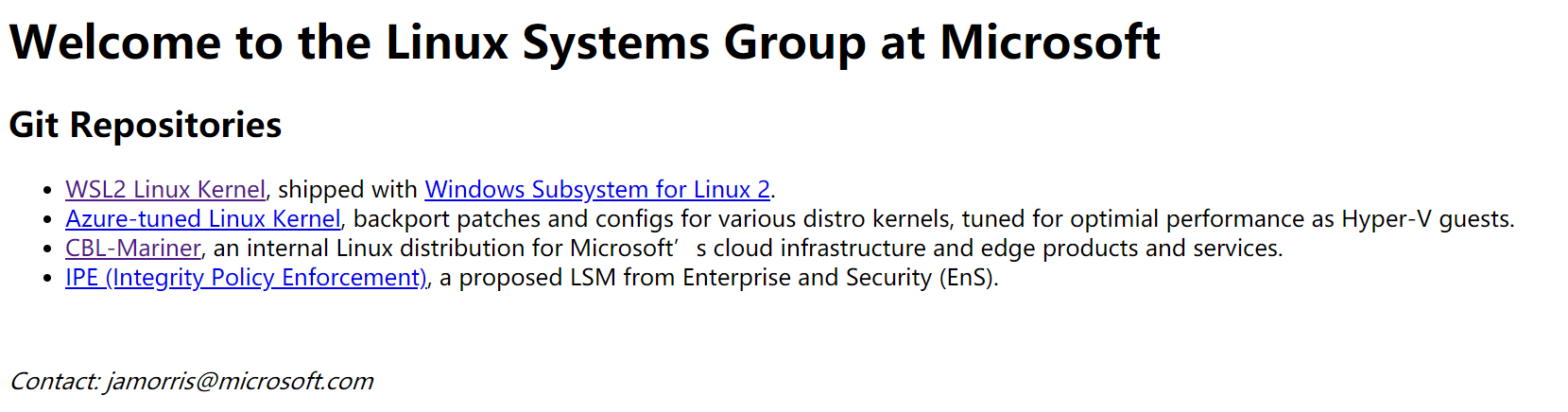 CBL-Mariner:微软推出的 Linux 发行版