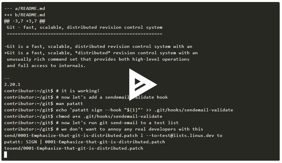Linux 内核开发者考虑为补丁提供加密证明