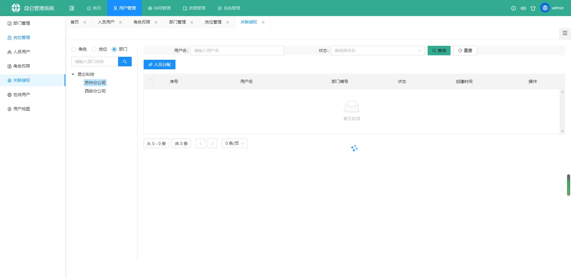 kunlun-admin v1.1.0 发布,后台管理系统