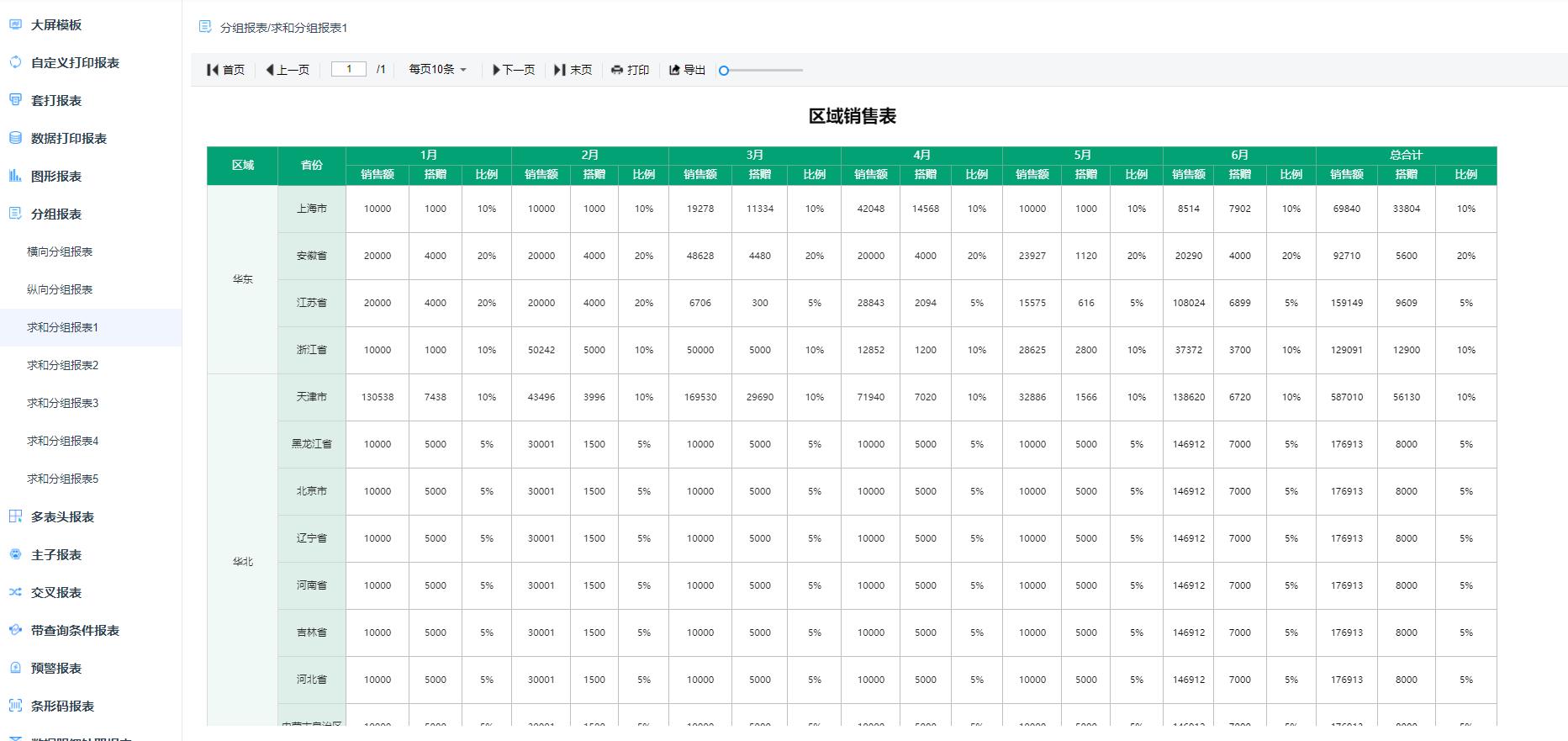 JimuReport积木报表1.3.4 版本发布,可视化报表工具(图5)