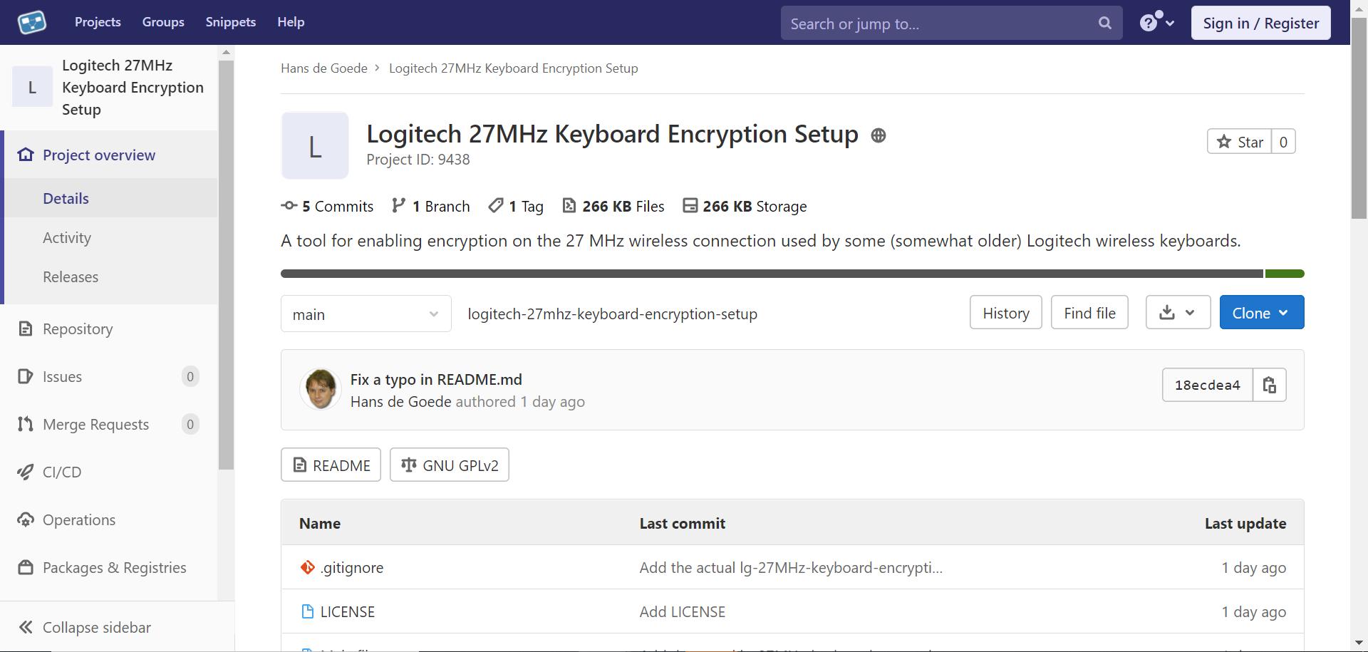 红帽大神制作 Linux 工具,用于旧款罗技无线键盘加密设置