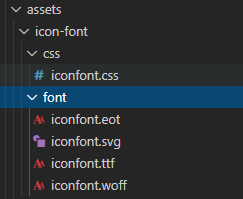 添加自定义字体打包不显示的问题